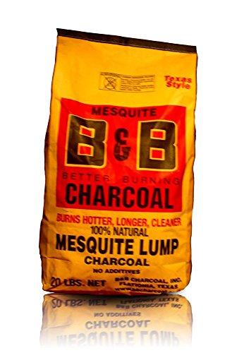 B&B Charcoal Mesquite Lump Charcoal
