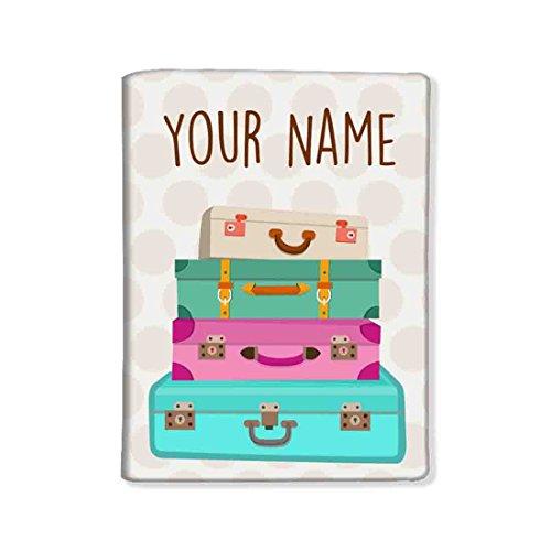 Nutcase Camo Personalized Passport Cover Holder - NC-CUS-CLUBSKU-0002 (Cream)