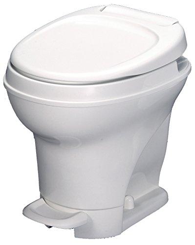 Aqua-Magic V RV Toilet Pedal Flush / High Profile / White