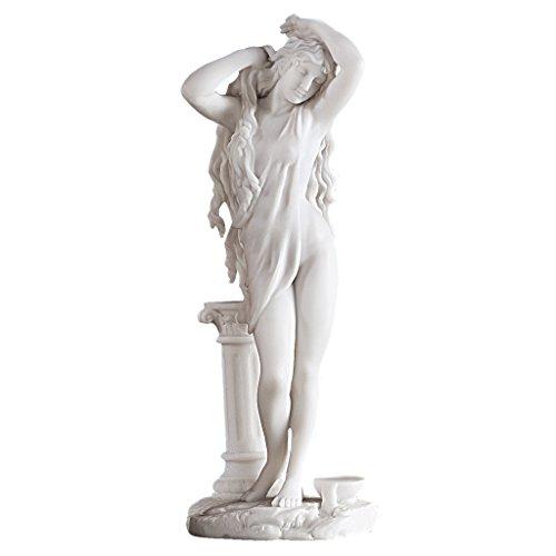 Design Toscano WU70782 Sculpture, Bianco, 9x11.5x28 cm
