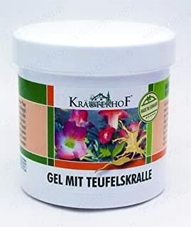 KrauterhoF Gel Devil's Claw and Eucalyptus Chronic Degeneratives in Joints 250ml ASAM-GERMANY