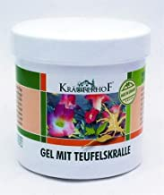 KrauterhoF Gel Devil's Claw and Eucalyptus Chronic Degeneratives in Joints 250ml ASAM-GERMANY