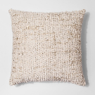 Cream Tufted Metallic Oversize Throw Pillow - Project 62™ : Target
