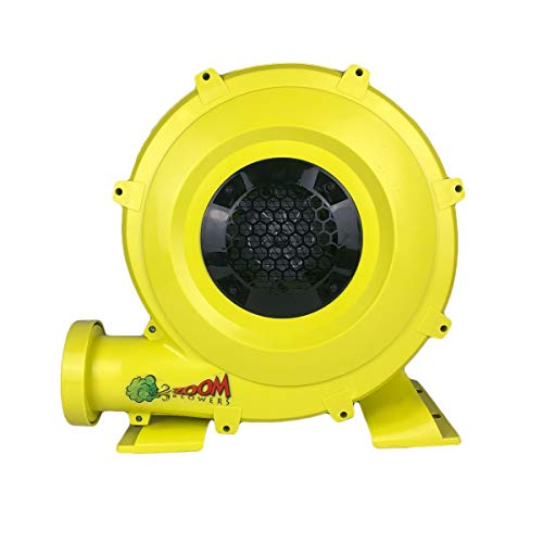 Zoom Blowers 750-Watt, 1HP Compact and Energy Efficient Zoom Commercial Air Blower for Small Inflatables and Bounce Houses