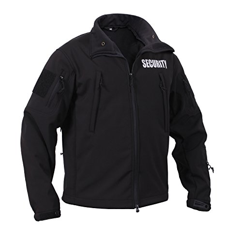 Rothco Special Ops Soft Shell Security Jacket, XL Black