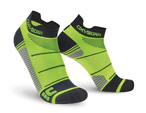 Oxyburn Run Evospeed Light-Low-Cut S Chaussettes Homme, Lizard/Black, Size 35/38