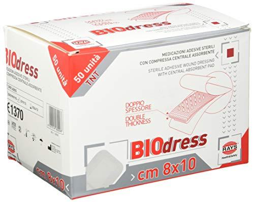 GIMA 34861 Medicazione Adesiva Sterile Tnt, 8 x 10 cm, Confezione 50 Pezzi