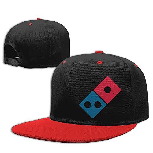 MIANZI Boys Girls Trucker Hat. Dominos Pizza Logo Snapback Baseball Cap Hip-Hop