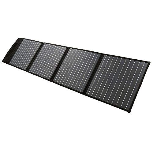 Maxray 200W Folding Solar Panel Blanket Kit 12V Mono Power Battery Mat Camping Caravan Boat Charging USB