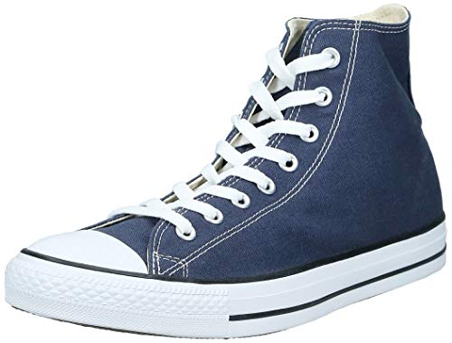 Converse Sneaker All Star Hi Canvas, Sneakers Unisex Adulto, Blu (Navy/White), 36 EU