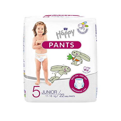 Bella Baby Happy Pants Größe 5 Junior 11-18 Kg im 1er Pack 22 Stück
