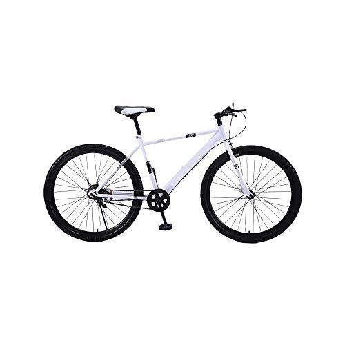ZLDAN MTB Bicycle Transmission disc Damper Men and Women (Color : White)