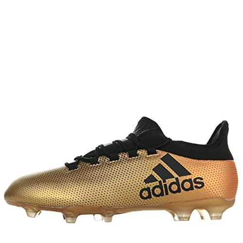 adidas Herren X 17.2 FG Fußballschuhe, Gold (Gold/schwarz Gold/schwarz), 43 1/3 EU