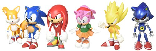 Sonic The Hedgehog Action Figure 6pcs S Buy Online In Gibraltar At Desertcart