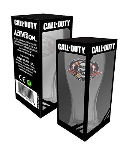Call of Duty Weissbier Glas
