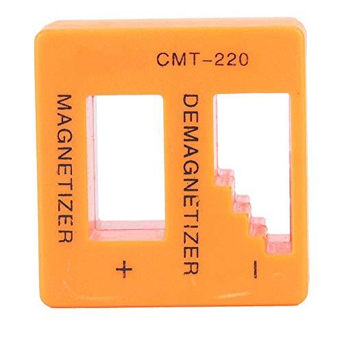 2-in-1 demagnetiseerapparaat, kunststof, blauw/oranje, voor het magnetiseren of demagnetiseren van de schroevendraaier. Oranje