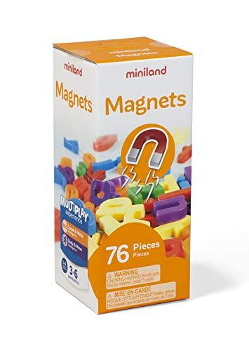 Miniland- letras magnéticas (45313) , color/modelo surtido