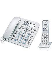 パナソニック コードレス電話機(子機1臺付き)シルバー VE-GD36DL-S