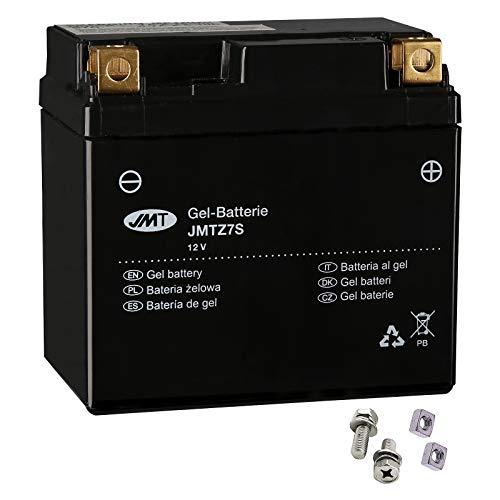 JMT YTZ7S Batería de gel DT 125 RE MX Everts 2005-2006