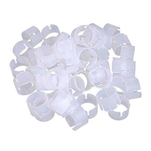 50 Pcs Arch Balloon Connectors Clip Ring Buckle For Wedding Birthday Decorations