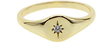 pinky signet ring womens