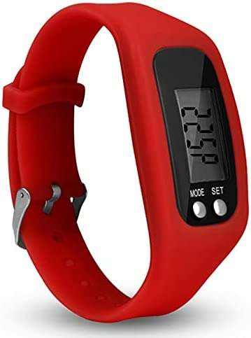 Pedometer Watch with 67% OFF of fixed price LCD Display Operation Fitnes Simple Popular popular Walking