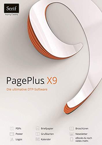 PagePlus X9 Lizenz PKC/Download DTP-Software Win 10,8,7