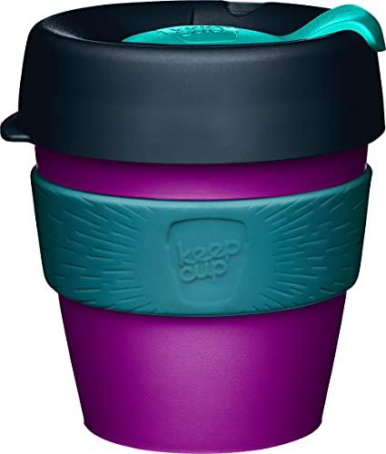 KeepCup Original, Reusable Plastic Cup, Small 8oz | 227mls, Viola
