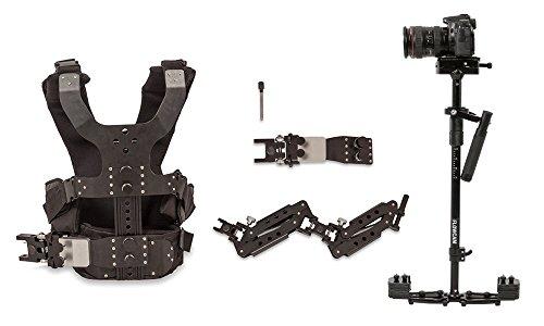 Flowcam DGS Video Camera Stabilizer with Dual Arm Vest Handheld Steadycam Stabilization System