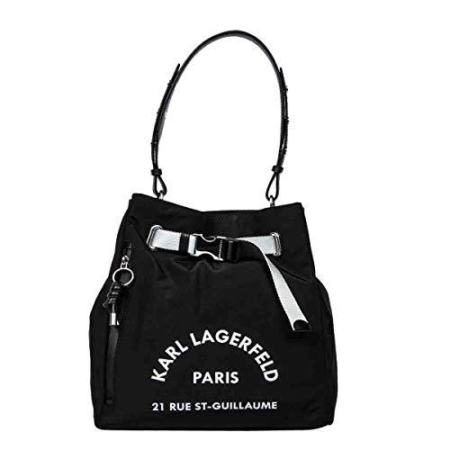 KARL LAGERFELD Luxury Fashion Donna 201W3079BLACK Nero Poliammide Borsa A Mano | Primavera-estate 20