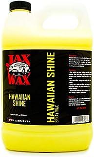Jax Wax Hawaiian Shine Carnauba Car Wax - Quick Detail Spray, 1 Gallon