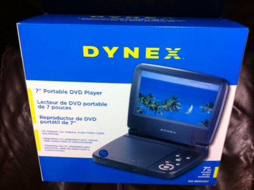 Learn More About DX-P7DVD 7 Inch Portable DVD Player