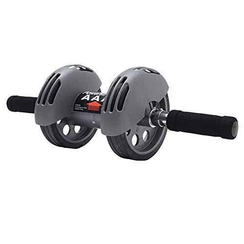JKUNYU Knee Pads AB Wheel Roller Set AB Roller and Knee Pad - Equipo de entrenamiento para el hogar para el entrenamiento de entrenamiento de resistencia del núcleo abdominal - Equipo de fitness de en