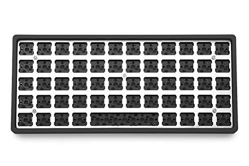 Drop + OLKB Preonic Keyboard MX Kit V3 — Compact Ortholinear Form Factor, Programmable QMK PCBA, Kaihua Hotswap Sockets, USB-C, Anodized Aluminum Case, (Black)