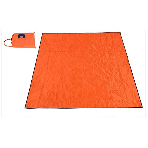 YLIKD Tapis de Camping 215 * 215CM Oxford Tissu Abri Étanche Plage Camping Tapis Auvent Auvent 4 Couleurs