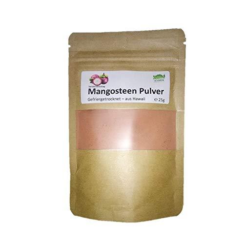 Mangosteen Pulver gefriergetrocknet, 25g, Superfood. Mangostan Pulver. Mangosteen Powder