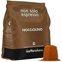 FRHOME - 50 Cápsulas compatibles Nespresso - Avellana - Il Caffè italiano