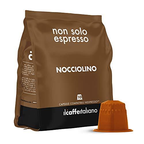 Il Caffè Italiano - 50 Capsule compatibili Nespresso Nocciolino - Frhome