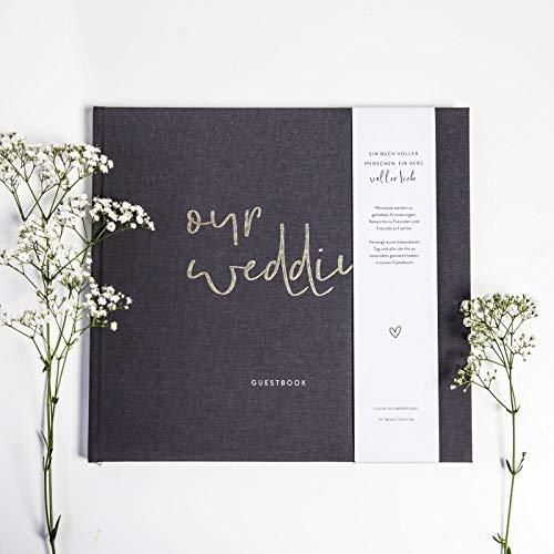 """JO & JUDY Hochzeitsgästebuch """"Our Wedding"""" mit Fragen zum Ausfüllen - 2"""