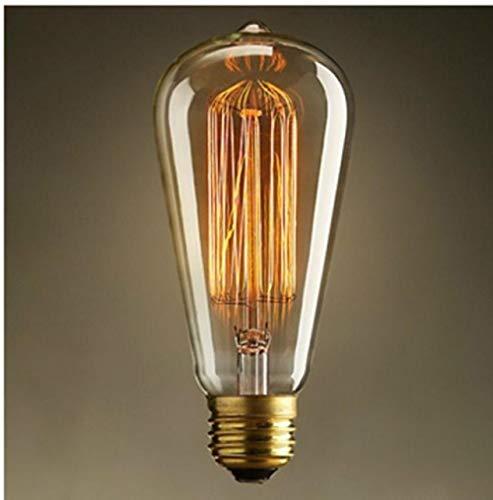 Lampadine A Risparmio Energetico Edison Nostalgico Retrò E27 Filettata 220V Industriale Bar Creativo Tungsteno Fonte Di Illuminazione 4 Pezzi