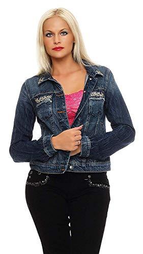 Miss Me Damen Jeans Jacke MK 568 (S)