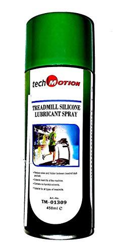 Techmotion 100% Silicone Lubricant Spray for Treadmill