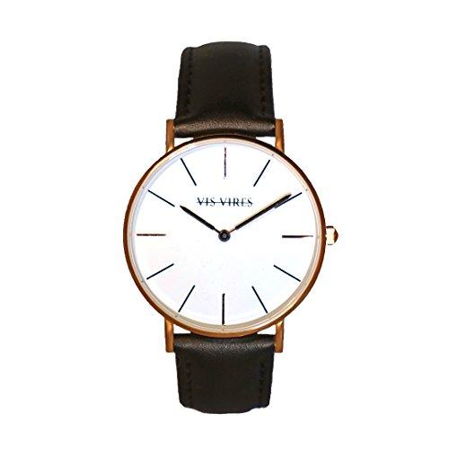 Vis Vires Visionnaire orologio da uomo, oro rosa 40mm