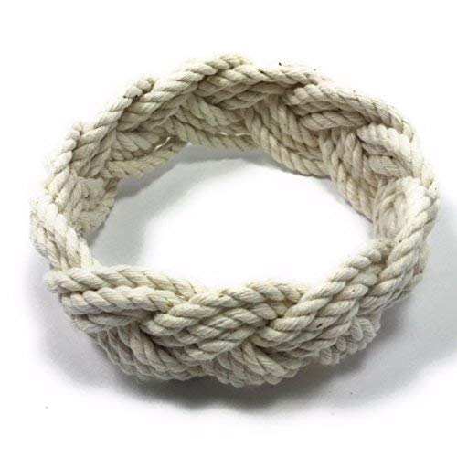 Original Natural White Cotton Sailor Knot Bracelet