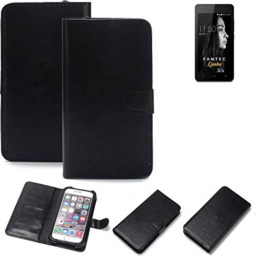 K-S-Trade® Handy Schutz Hülle Für FANTEC Limbo Schutzhülle Bumper Schwarz 1x