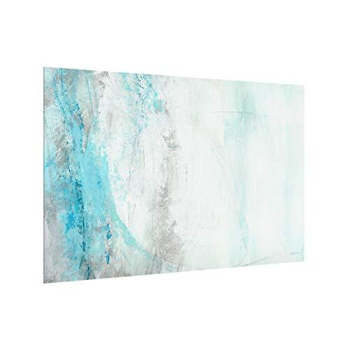 Bilderwelten Spritzschutzglas Küchenspiegel - Eismeer Querformat 40 x 60 cm
