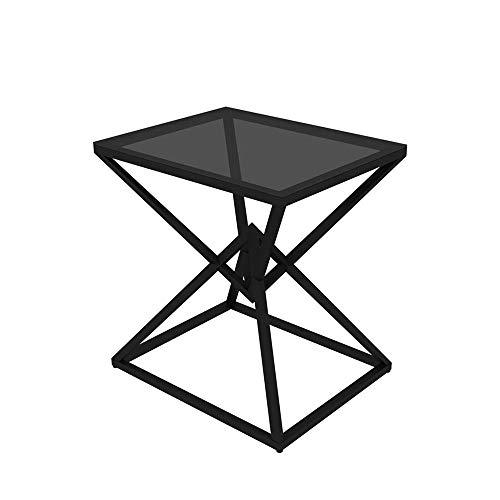 XLEVE Nordic mármol pequeña Mesa de Centro Moderna Simple de la Sala de Estar de Hierro Sofá Lado Creativo Mesilla de Noche Mini Tabla