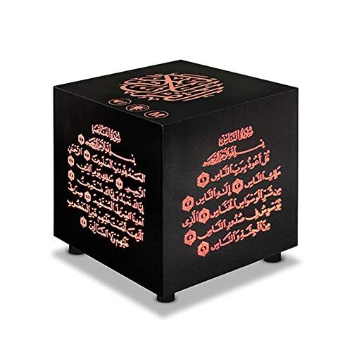 Altavoz Bluetooth inalámbrico impermeable, SQ805 Mini musulmán Corán Cubo Altavoz Táctil Portátil Inalámbrico Reproductor MP3