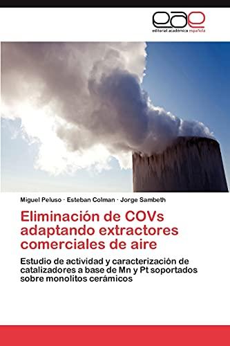 Eliminacion de Covs Adaptando Extractores Comerciales de Aire: Estudio de actividad y caracterización de catalizadores a base de Mn y Pt soportados sobre monolitos cerámicos
