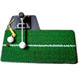 3in1 ゴルフ 練習用 スイング マット ティーショット フリーショット ターンショット 対応